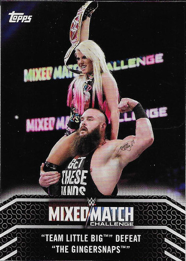 2018 Topps WWE Women's Division Mixed Match Challenge #MM-15