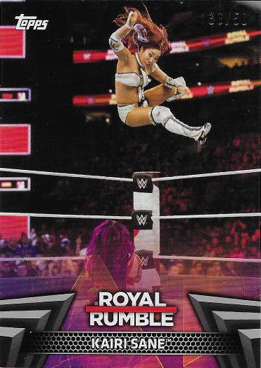 2018 Topps WWE Women's Division Royal Rumble Silver #RR-6 Kairi Sane