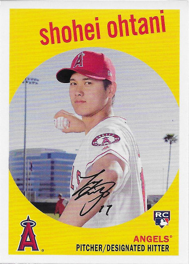 2018 Topps Archives #50 Shohei Ohtani RC