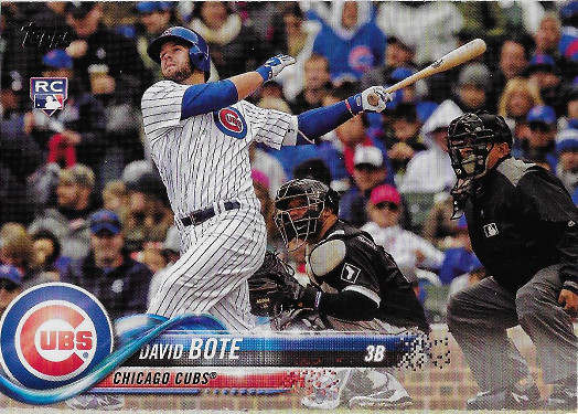 2018 Topps Update #US273 David Bote RC