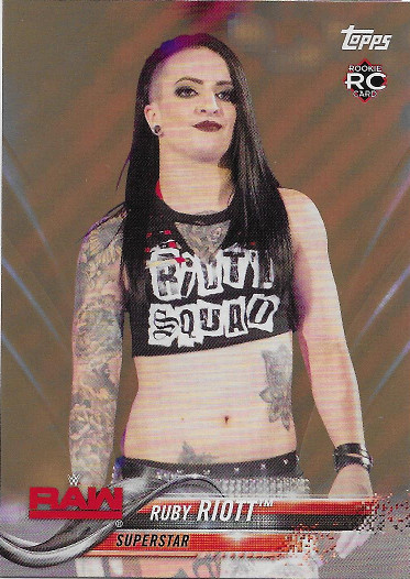 2018 Topps WWE Bronze #167 Ruby Riott RC