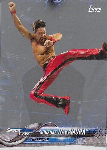 2018 Topps WWE Silver #178 Shinsuke Nakamura