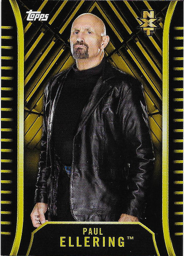 2018 Topps WWE NXT Roster Gold #R-24 Paul Ellering