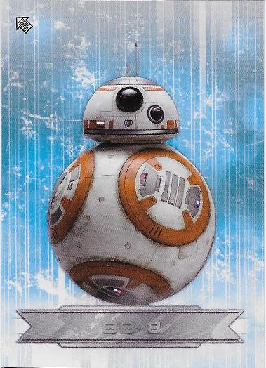 2018 Topps Star Wars The Last Jedi Character Stickers #CS-9 BB-8