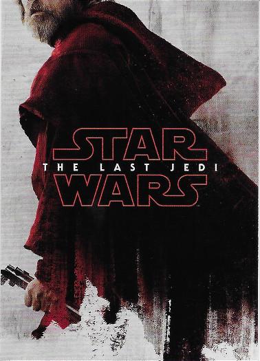2018 Topps Star Wars The Last Jedi Teaser Posters #TP-6 Luke Skywalker