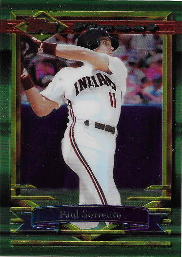 1994 Topps Finest Preproduction #185 Paul Sorrento