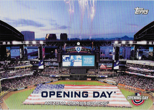 2019 Topps Opening Day Opening Day #ODB-AD Arizona Diamondbacks