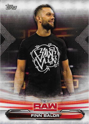 2019 Topps WWE Raw #31 Finn Balor