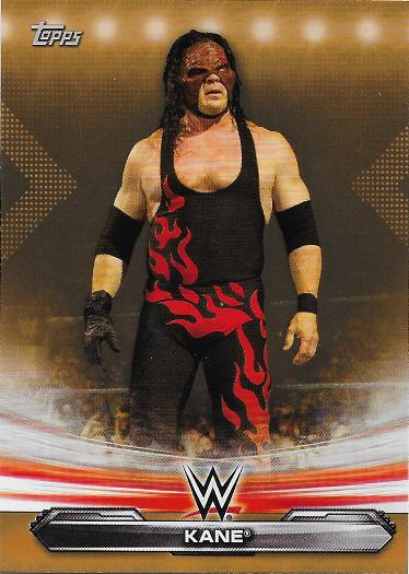 2019 Topps WWE Raw Bronze #40 Kane