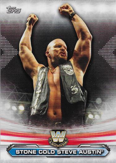 2019 Topps WWE Raw Legends of Raw #LR-17 Stone Cold Steve Austin