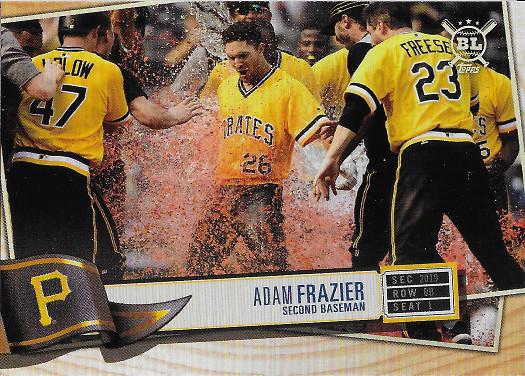 2019 Topps Big League #169 Adam Frazier