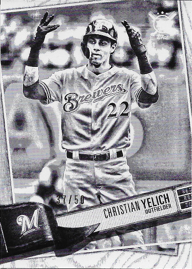 2019 Topps Big League Artist Rendition #300 Christian Yelich
