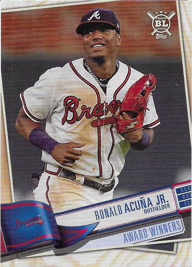 2019 Topps Big League #381 Ronald Acuna Jr. AW