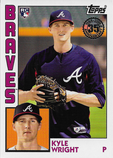 2019 Topps 1984 Topps Rookies #84R-KW Kyle Wright RC