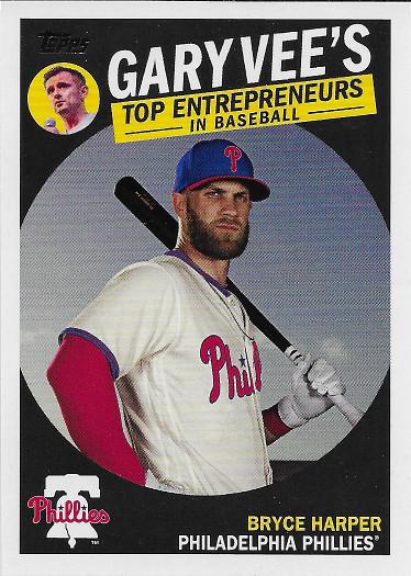 2019 Topps Gary Vee's Top Entrepreneurs in Baseball #GV-1 Bryce Harper