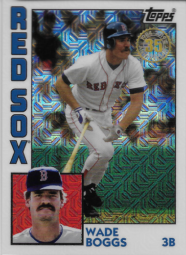 2019 Topps 1984 Topps Chrome #T84-14 Wade Boggs