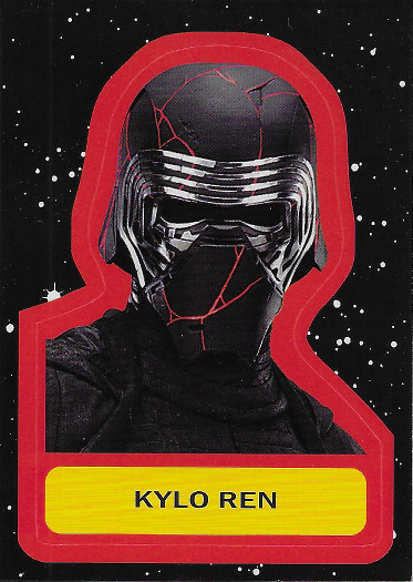 2019 Topps Star Wars: Journey to The Rise of Skywalker Character Stickers #CS-12 Kylo Ren
