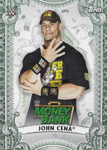 2019 Topps WWE Money in the Bank Money Cards #MC-4 John Cena