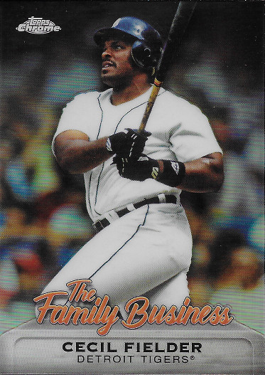 2019 Topps Chrome The Family Business #FBC-9 Cecil Fielder