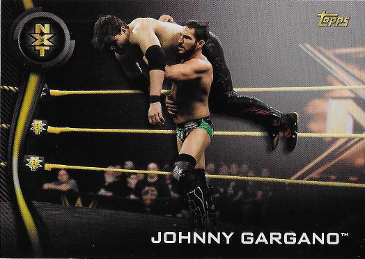 2019 Topps WWE NXT Roster #21 Johnny Gargano