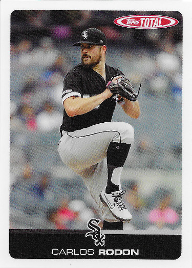 2019 Topps Total #558 Carlos Rodon