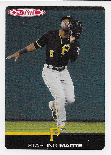 2019 Topps Total #529 Starling Marte