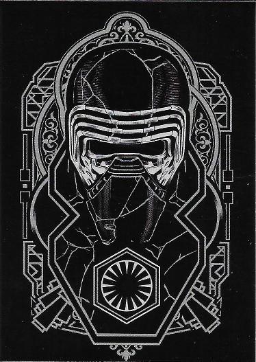 2020 Topps Star Wars The Rise of Skywalker Kylo Ren Continuity #11 Kylo Ren