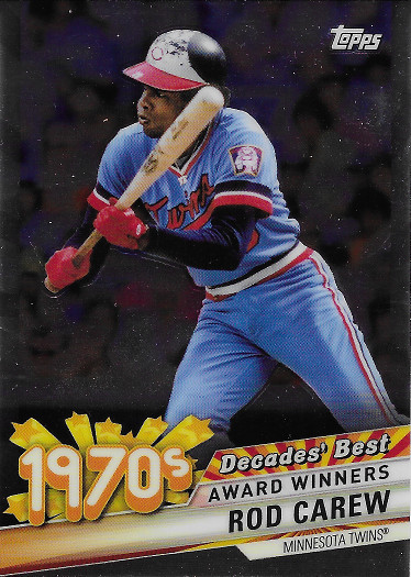 2020 Topps Decades' Best Chrome #DBC-36 Rod Carew