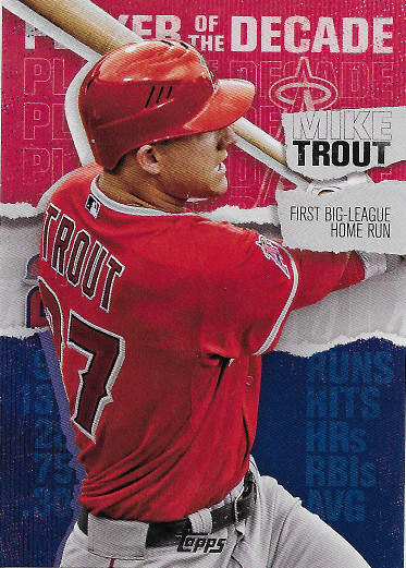 2020 Topps Player of the Decade #MT-1 Mike Trout