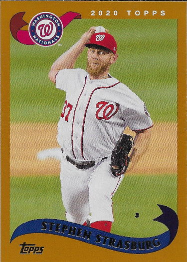 2020 Topps Archives #298 Stephen Strasburg