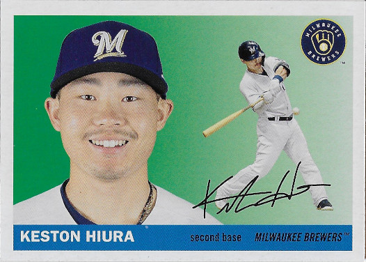 2020 Topps Archives Body Image Variation #26 Keston Hiura
