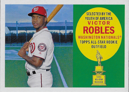 2020 Topps Archives 1960 Topps All-Star Rookies #60AR-VR Victor Robles