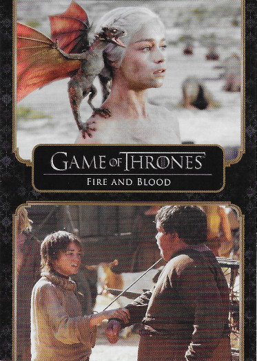 2020 Rittenhouse Game of Thrones Complete Series #10 Fire and Blood