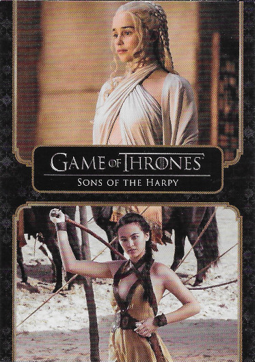 2020 Rittenhouse Game of Thrones Complete Series #44 Sons of the Harpy