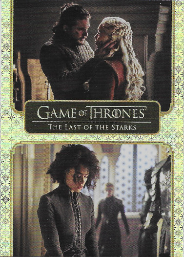 2020 Rittenhouse Game of Thrones Complete Series Gold #71 The Last of the Starks