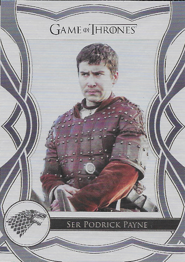 2020 Rittenhouse Game of Thrones Complete Series Cast #/75 #C57 Podrick Payne