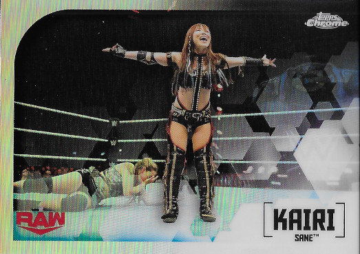 2020 Topps Chrome WWE Image Variations #IV-14 Kairi Sane