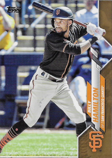 2020 Topps Update Gold #U-285 Billy Hamilton