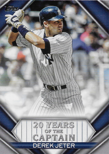 2020 Topps 20 Years of The Captain #YOC-95 Derek Jeter