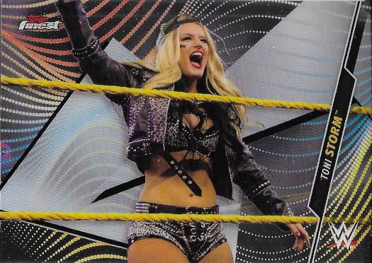 2020 Topps Finest WWE #99 Toni Storm