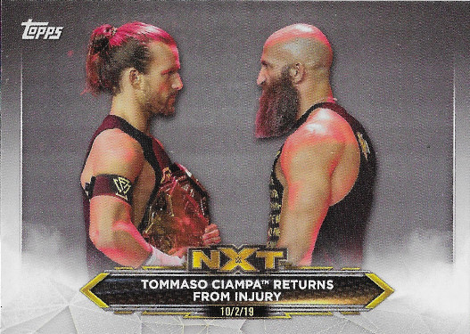 2020 Topps WWE NXT #36 Tommaso Ciampa Returns from Injury