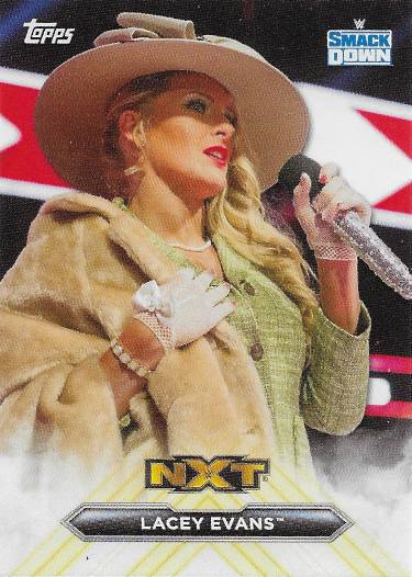 2020 Topps WWE NXT Called Up #CU-3 Lacey Evans
