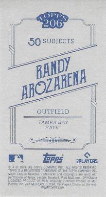 2021 Topps 206 # Randy Arozarena