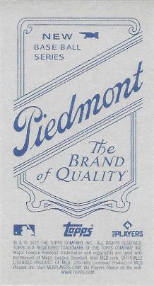 2021 Topps 206 Piedmont # Sean Manaea