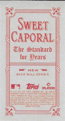 2021 Topps 206 Sweet Caporal # Cesar Hernandez