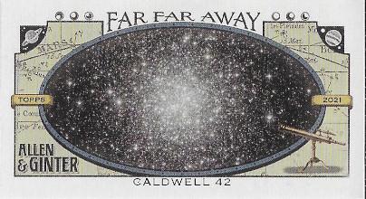 2021 Allen & Ginter Far Far Away #FFA-6 Caldwell 42