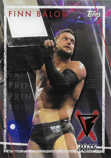2021 Topps WWE NXT Finn Balor Tribute #FB-5 Finn Balor & Samoa Joe Honor Dusty Rhodes NXT TakeOver: Respect