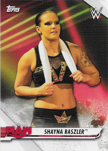 2021 Topps WWE NXT NXT Alumni #NA-7 Shayna Baszler