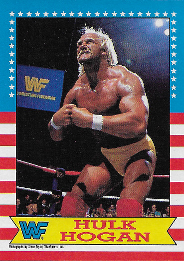 1987 Topps WWF #3 Hulk Hogan