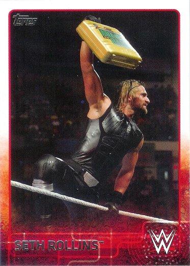2015 Topps WWE #70 Seth Rollins